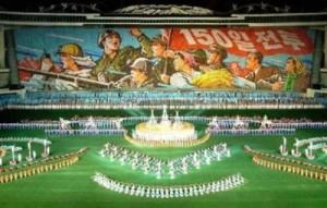 North Korea Propaganda Performance
